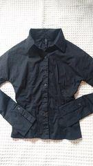 ★SLY黒ストレッチシャツ★