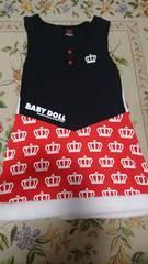 ベビードール ベヒド BABY DOLL ディズニーコラボ ワンピース 130cm