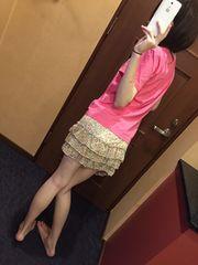 花柄ミニスカート・ミニ丈スカート