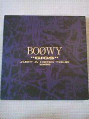 ボウイBOOWY  'GIGS'JUST A HERO TOUR 1986初回限定