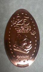 TDL 25周年 プーサン/スーベニアメダル