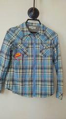 チェックシャツ☆150