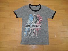 ヒステリックグラマーHYSTERIC GLAMOURトリムTシャツS灰ガール
