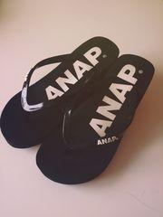 ANAP*サンダル*黒