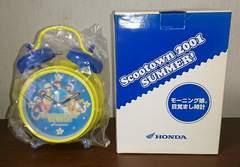 未使用/HONDA Scootown2001 SUMMER! モーニング娘。目覚まし時計