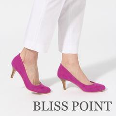 2018年春夏新色カラー!BLISS POINT ラウンドパンプス Pink