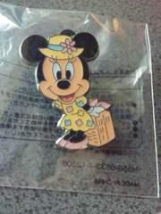 ディズニーシー ワゴンゲーム 非売品ピンバッジ スプリングヴォヤッジ2012 ミニーマウス