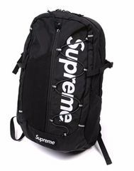 【新品】backpack black collor【supremeロゴ】