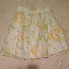 Oneway☆フラワーサマーオーガンジースカート