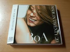 BoA CD「MADE IN TWENTY (20)」DVDき付●
