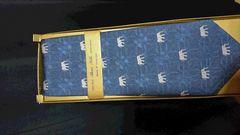 新品 100% THAISILK 象柄made in THAILAND  HAND MADE ネクタイ