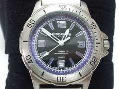 10224/HIDEAWAYS/NICOLEダイバー型デザインメンズ腕時計★箱付き