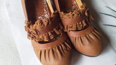 りぼん&レース可愛い靴Sサイズ