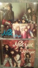 激レア!☆Notyet/週末Notyet☆初回盤A.B/2CD+2DVD/激レア!カード付!2枚