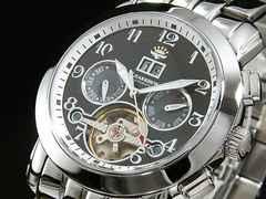 ジョンハリソン 自動巻き 腕時計 JH008-BBK 新品