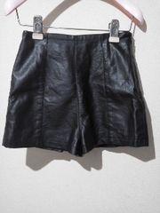 TOPSHOP/トップショップ柔らか人工皮革パンツ*送料250円