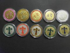大特価 イタリア セントジョージ 金メダル コイン10枚セット