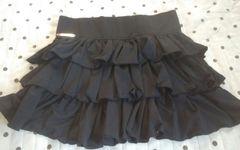 Shoop 黒 美品 ミニスカート