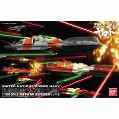 宇宙戦艦ヤマト 1/1000 国連宇宙海軍 連合宇宙艦隊セット2