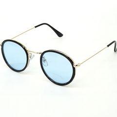 新品 ヴィンテージ風 カラーレンズ ラウンドサングラス メンズ レディース 丸眼鏡