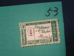 外国の切手 「アメリカ」 (53)