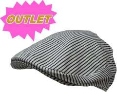 OUTLET ヒッコリー ハンチング cap 帽子 メンズ・レディース