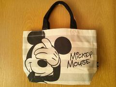 Disneyミッキー&ミニー*綿トートバッグ*新品ディズニー