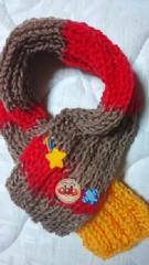 【\500送込処分セール】B25新品〓手編みミニマフラー