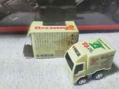 やまだ屋特注 日本のおみやげ もみじ饅頭 配送トラック 広島 開封済