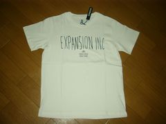 新品EXPANSIONエクスパンションTシャツM白ロゴARTカットソー