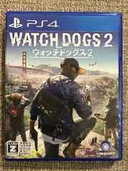ウォッチドッグス2 美品 WATCHDOGS2 PS4
