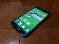 即落/即発!!美中古品 SC-04E Galaxy S4 ブラック