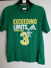 adidas☆ロゴTシャツ140�p