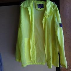 蛍光色黄色 ジャンパーL