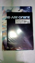 ソードアート・オンライン ポスター2枚+魔法科高校の劣等生 クリアファイル&下敷き