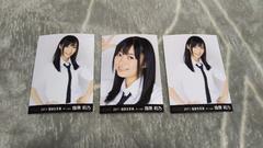 HKT48指原莉乃☆公式写真〜2011年福袋生写真まとめ売り3枚セット