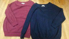any SiS セーター二枚セット