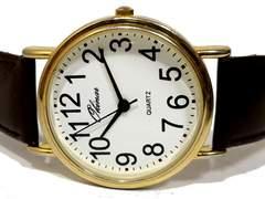 美品【980円〜】アンティーク調 シンプル メンズ腕時計