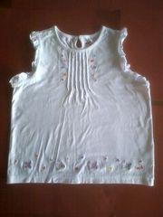 140ミキハウス袖ナシタンクトップブラウス刺繍