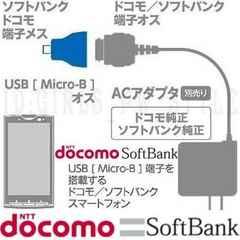 303SH003SH005SH107SH200SH204SH007SH microUSB 変換 充電器