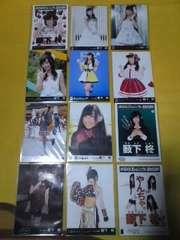送料込み薮下柊AKB48劇場盤生写真12枚セット