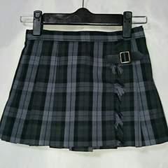☆コムサ ブロックチェック柄 スカート 新品未使用110☆