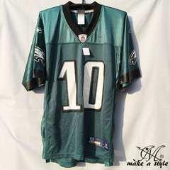 NFL フットボールシャツ Eagles JACKSON グリーン REEBOK M 685