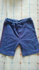 シンプルブルー半ズボン♪95�p