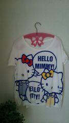 ユニクロ キティちゃんビッグTシャツ M