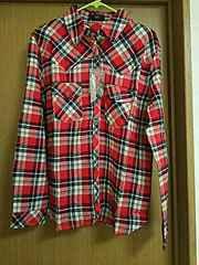 未使用☆Lサイズ☆チェックシャツ☆