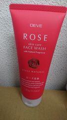 ★新品★ローズ 洗顔フォーム