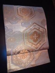 金箔刺繍*オシャレ亀甲袋ナゴヤ表チョー美品レタP