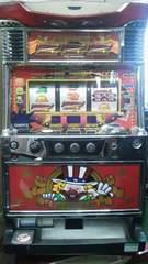 実機 ニューアイムジャグラーEX-C◆コイン不要機付◆