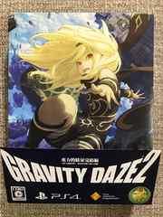 グラビティデイズ2重力的眩暈完結編 新品同様 PS4 GRAVITY DAZE2